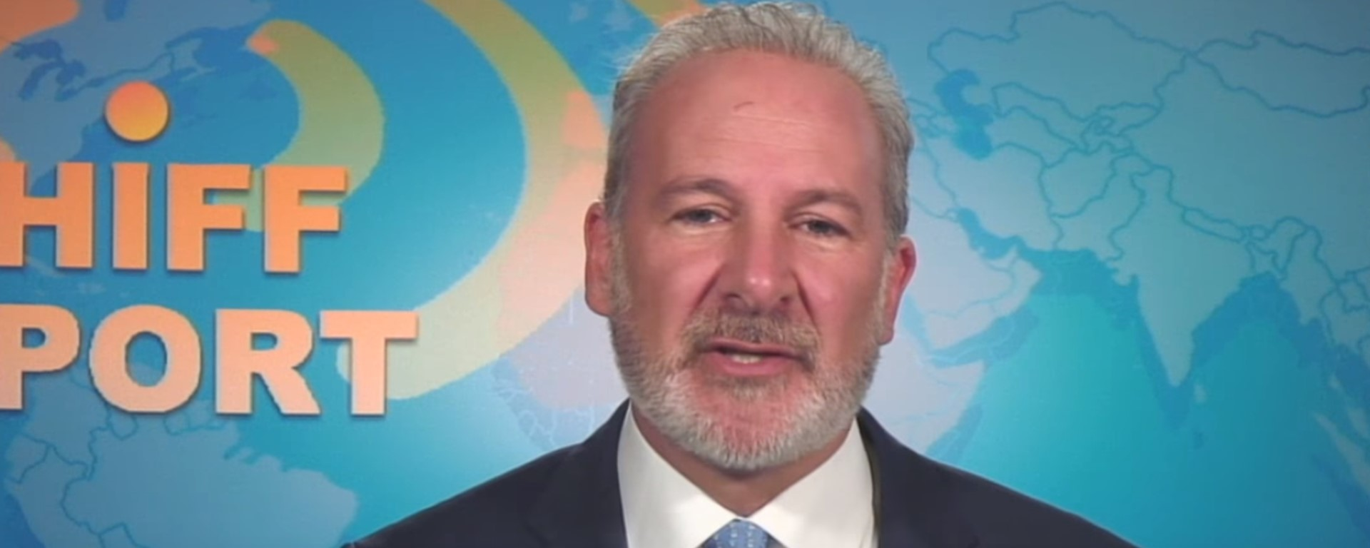"Peter Schiff: ""if Bitcoin doesn't even go up in the crisis, when will it go up?"" 21"