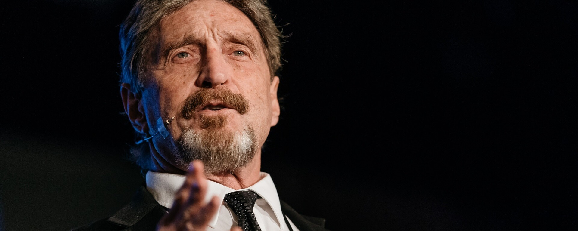 McAfee regains control of the Ghost cryptocurrency 20